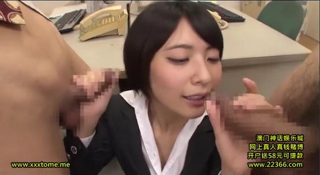 【ロリ系】童顔で超カワイイ後輩OLの変態的フェラ!阿部乃みく